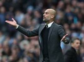 pep guardiola holds lengthy dressing room inquest after manchester city are held by southampton