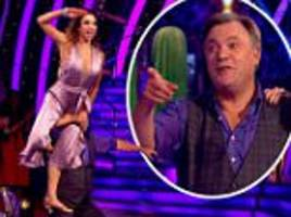 'he gets too dizzy from all the spins': strictly survivor ed balls' dance partner katya jones reveals why he almost dropped her during routine
