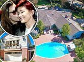 inside the oppulent $26.8m la mansion rented by ozzy and sharon osbourne