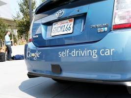 How Google's self-driving car project rose from a crazy idea to a top contender in the race toward a driverless future (GOOG, GOOGL)