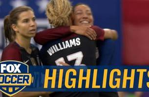 Press lobs one over the Swiss keeper for a 3-1 lead | Women's International Friendly Highlights