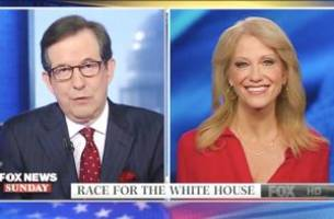 Chris Wallace Confronts Conway Over Rumors She's 'Uncomfortable' With Trump's Behavior