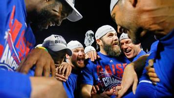 chicago cubs' 71-year world series 'curse' ends