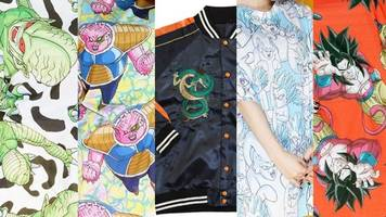 Dragon Ball Fashion Debuts from Japanese Brand Galaxxxy