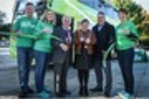 New green bus asks Plymouth passengers to donate to cancer...