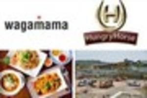 are you happy wagamama is coming to cheltenham and hungry horse...