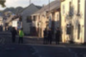 Residents allowed to return home as terror police continue search...