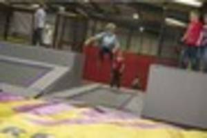 first look inside £250,000 indoor trampoline park opening...