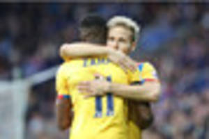 crystal palace midfielder happy with personal progress, but says...