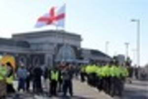 In pictures: The Margate White Lives Matter march where police...