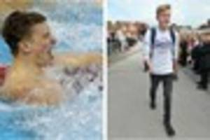 lewis white and adam peaty are guests of honour as derbyshire...