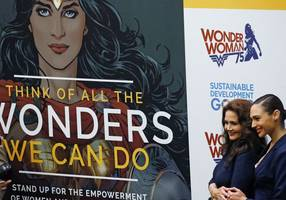 the un, israel's gal gadot and wonder woman: what do they have in common?