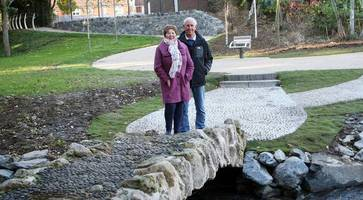 connswater community greenway: walkers' delight at revamped riverside