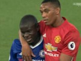 ryan giggs slams manchester united player reactions after 4-0 loss at chelsea with zlatan ibrahimovic and anthony martial seen swapping shirts