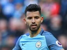 sergio aguero's starting spot at manchester city could be in danger under manager pep guardiola, according to phil neville