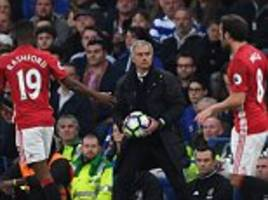 show me that you're men! manchester united boss jose mourinho warns his players there is 'no way to hide' after woeful defeat by chelsea