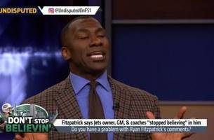 shannon sharpe explains in detail why he has an issue with qb fitzpatrick's gripes | undisputed