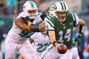 which jets quarterback will miami face in week 9?