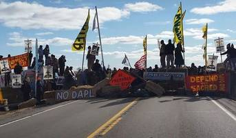 125 arrested as dakota pipeline protests grow hostile; media drones shot down by police