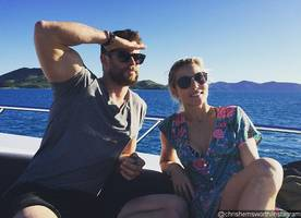 Chris Hemsworth Shoots Down Split Reports With Cheeky Instagram Post