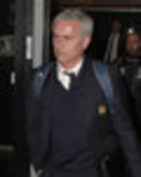 Jose Mourinho and Man Utd flops look gutted as they arrive home after Chelsea battering