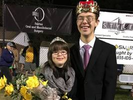 Paul VI Catholic Crowns Homecoming King and Queen