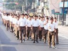 The RSS calls on the Kerala government and Centre to take action against political violence and 'to ensure rule of law in Kerala'