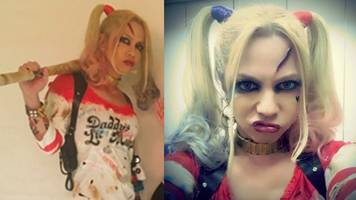 HYDE Dresses as Harley Quinn for Halloween Concert, Breaks Internet in Japan