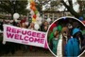 Mixed reaction as child refugees brought to hostel near Great...