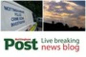 Live breaking news, weather and traffic updates around Nottingham...