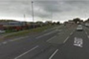 woman, 39, taken to hospital after collision with lorry on king...