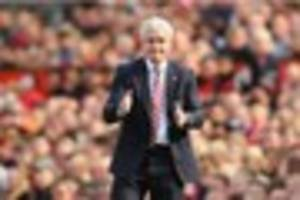 mark hughes says continuity in selection key to stoke city...