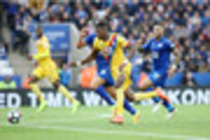 Crystal Palace duo in team of the week after loss at Leicester...