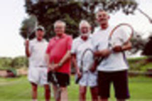 tennis-mad barton pensioner, 75, beats opposition in league debut