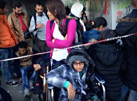 a 16-year-old's escape from syria, in a wheelchair