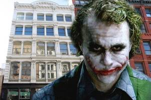 Heath Ledger's New York City loft was a shrine to the Joker after star became 'obsessed' with comic book villain