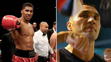 Anthony Joshua will not fight Wladimir Klitschko in 2016 but spring bout expected