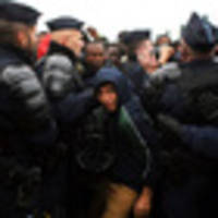 jungle camp migrants bused to new shelters across france