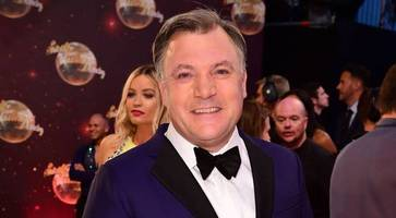Ed Balls 'can't lift for toffee' jokes Joseph after Strictly exit