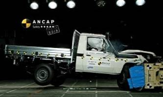 2017 Toyota Land Cruiser 70 Series Earns 5 Stars for Safety From ANCAP