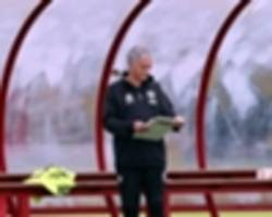 mourinho's 'cold approach' at man utd training ground has not gone down well
