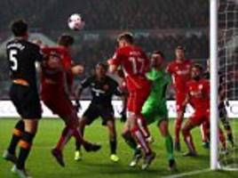 Bristol City 1-2 Hull City: Defenders Harry Maguire andMichael Dawson on target as Tigers claim morale-boosting win in EFL Cup
