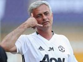 Jose Mourinho sends tailored text messages to Manchester United stars ahead of big games as he looks to arrest slide in EFL Cup clash with City