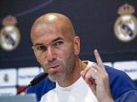 Real Madrid boss Zinedine Zidane jumps to the defence of under-fire Cristiano Ronaldo: 'I don't understand the whistles, they also whistled me'
