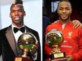 Renato Sanches followed Lionel Messi and Sergio Aguero by winning Golden Boy award... but what happened to the others who won the title?