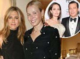 chelsea handler reveals jennifer aniston has no interest in brad pitt's split
