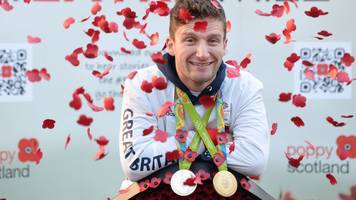 cycling star callum skinner launches poppy appeal