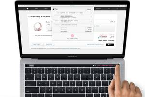 Apple leaks new MacBook Pro with touch strip