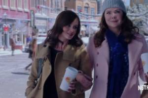the gilmore girls revival trailer is here and everyone, everyone, everyone is back