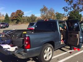 stolen car stuffed with stolen property found in livermore walmart parking lot: police